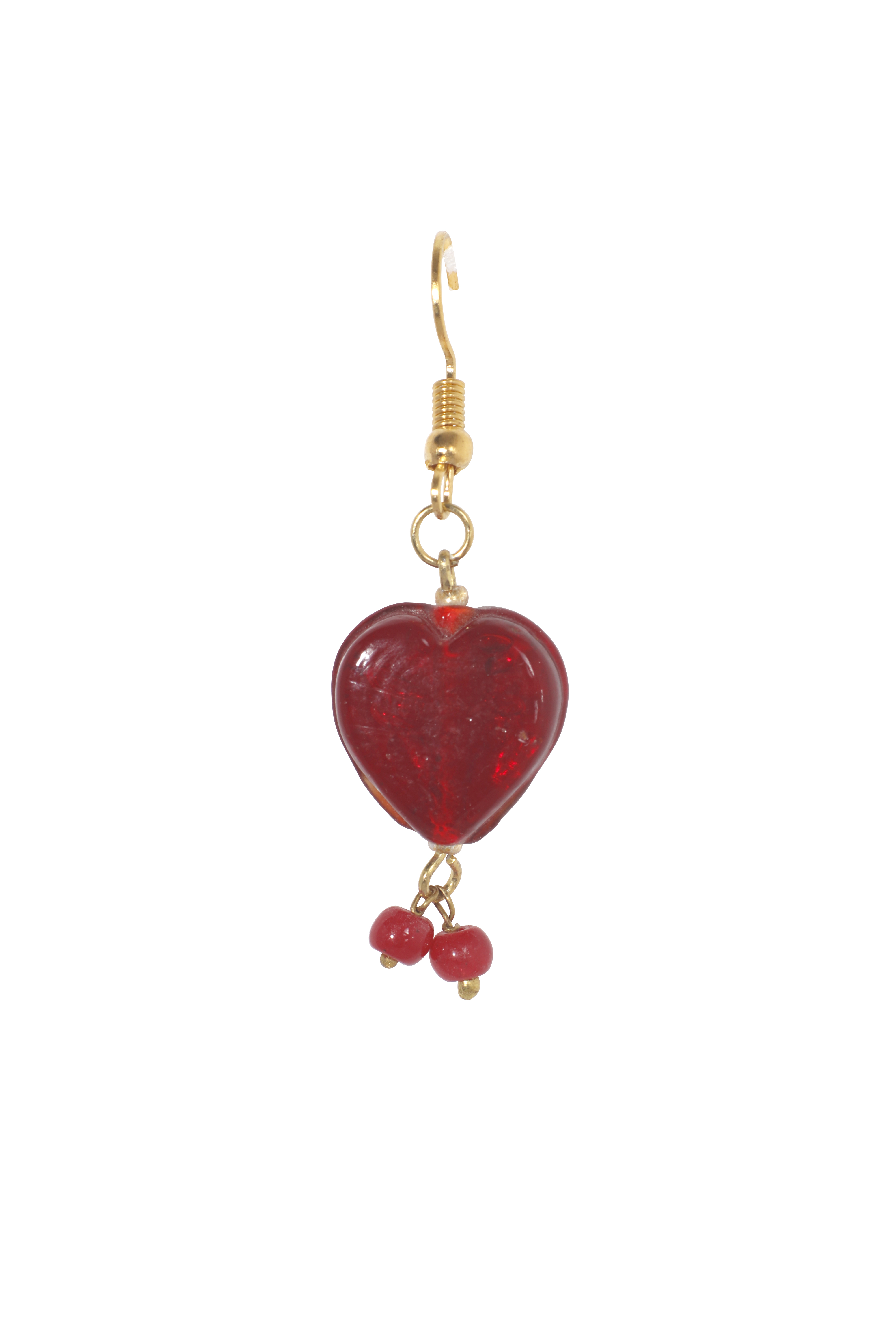 HEART SHAPED CRYSTAL NECKLACE
